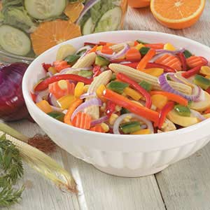 Simple Marinated Vegetables Recipe