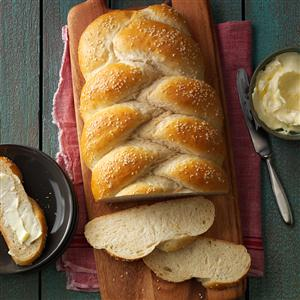 Bread Week: Sesame Wheat Braids