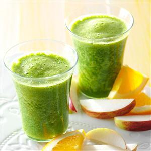 Ginger-Kale Smoothies Recipe