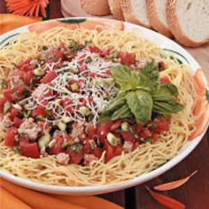 Turkey-Tomato Pasta Sauce Recipe