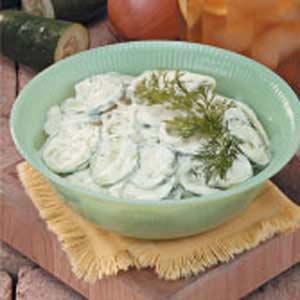 Cucumber Side Dish Recipe