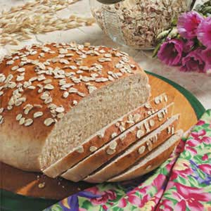 Maple Oat Bread Recipe