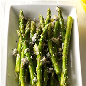 Marinated Asparagus with Blue Cheese Recipe