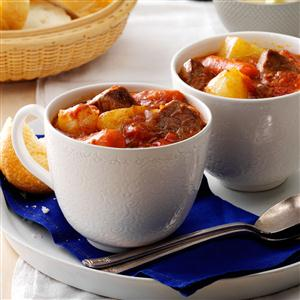Hearty Busy-Day Stew Recipe