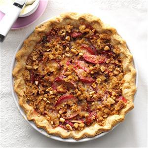 Plum & Hazelnut Pie Recipe