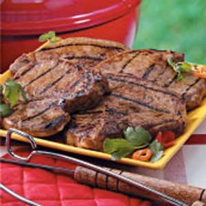 Grilled Marinated Pork Chops Recipe