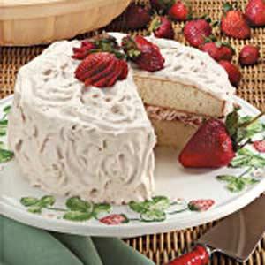 fruit filled cake
