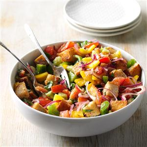 Garden Bounty Panzanella Salad Recipe