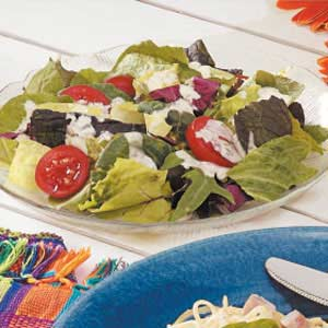 Creamy Italian Salad Recipe