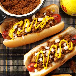 Old-Fashioned Coney Hot Dog Sauce Recipe
