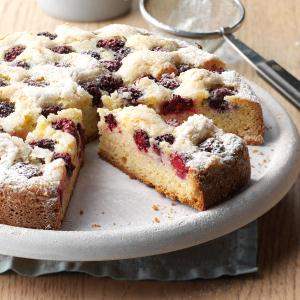 Blackberry-Orange Cake  Recipe