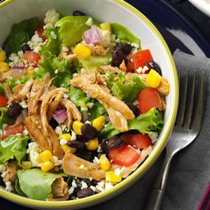 Southwest Shredded Pork Salad Recipe