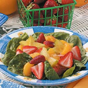 Fruit 'n' Spinach Salad Recipe