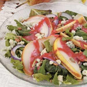 Warm Pear Salad Recipe
