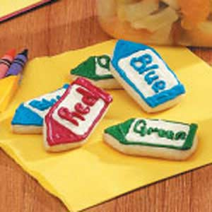 C  Is For Crayon Cookies Recipe
