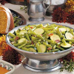 Green Beans with Zucchini Recipe