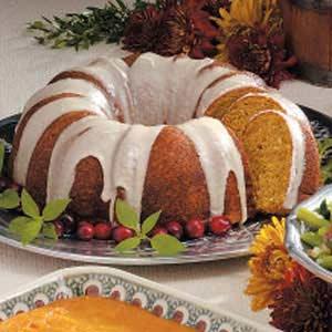 Pumpkin Bread Ring Recipe