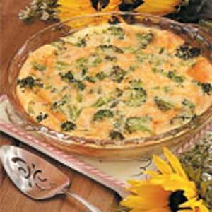 Broccoli Sausage Breakfast Bake Recipe
