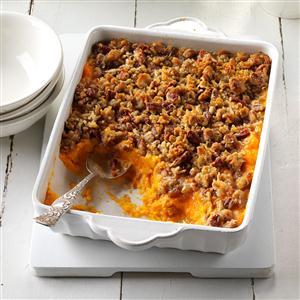 Sweet Potato, Orange & Pineapple Crunch Recipe
