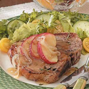 Apple-Glazed Pork Chops Recipe