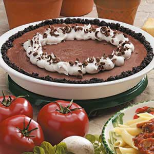 Frosty Chocolate Pie Recipe