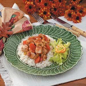 Orange Cashew Chicken Recipe