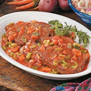 Saucy Swiss Steak Recipe