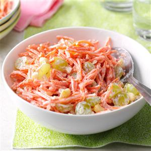 Pina Colada Carrot Salad Recipe