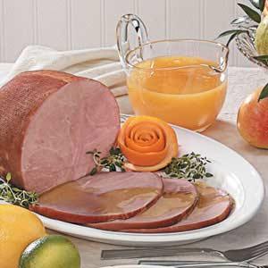 Ham with Citrus Sauce Recipe
