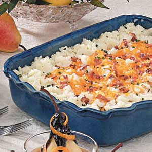 Cheddar Mashed Potatoes Recipe