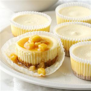 Easy Mini Caramel Apple Cheesecakes Recipe