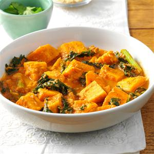 African peanut sweet potato stew recipe taste of home african peanut sweet potato stew recipe forumfinder Images