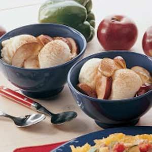 Sauteed Apples A La Mode Recipe