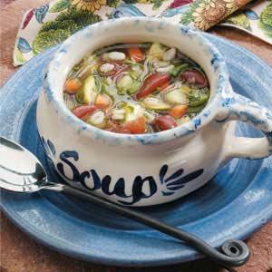 Kidney Bean Vegetable Soup Recipe