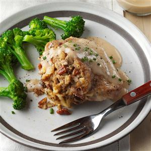 Sunday Best Stuffed Pork Chops Recipe