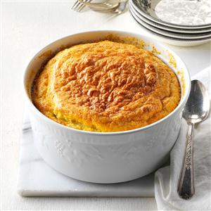 Corn & Onion Souffle Recipe