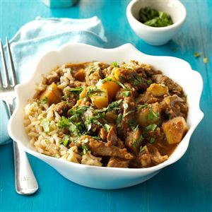 Curried Lamb and Potatoes Recipe