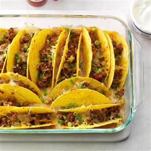 Baked Beef Tacos Recipe