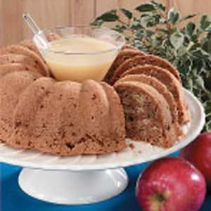 Apple Bundt Cake Recipe