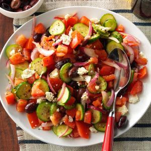 Dad's Greek Salad Recipe