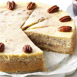 Roasted Banana & Pecan Cheesecake Recipe
