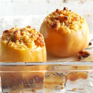 Parmesan Crisp Baked Apples Recipe