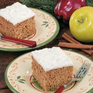Applesauce Oat Cake Recipe