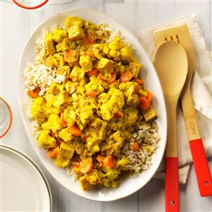 Turkey Curry with Rice Recipe