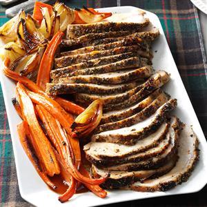 Italian Herb-Crusted Pork Loin Recipe