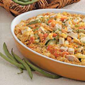 Rotini Chicken Casserole Recipe