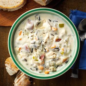 Turkey & Wild Rice Soup Recipe