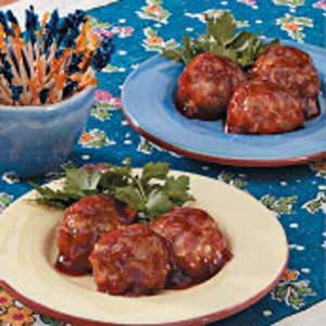 Saucy Turkey Meatballs