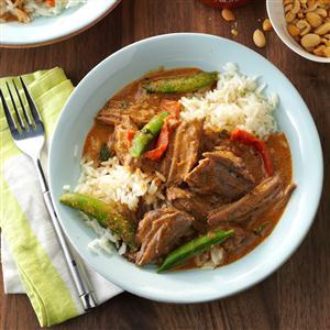 Thai Coconut Beef Recipe