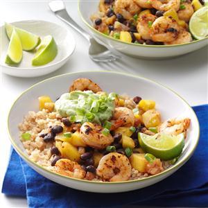 Caribbean Shrimp & Rice Bowl Recipe